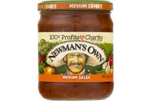 Newman's Own Medium Salsa Medium Chunky
