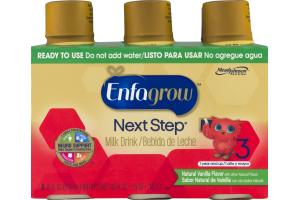 Enfagrow Next Step Milk Drink Ready To Use Vanilla 3 / 1 Year And Up - 6 PK