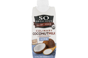 So Delicious Dairy Free Culinary Coconutmilk Lite