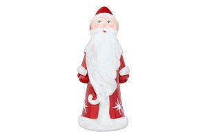 Новорічна прикраса Дід Мороз 30*13см пластик