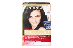 Крем-фарба для волосся №200 Кавовий Crème Excellence L'Oreal 1шт