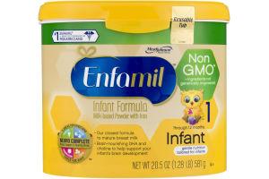 Enfamil Milk-Based Powder Infant Formula with Iron