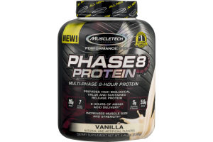 Muscletech Phase 8 Multi-Phase 8 Hour Protein Vanilla