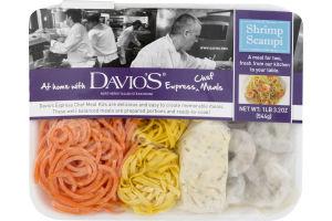 Davio's Express Chef Meals Shrimp Scampi