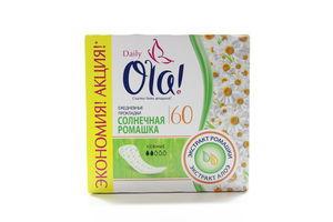 Прокладки щоденні Ola! Daily Сонячна ромашка 60шт