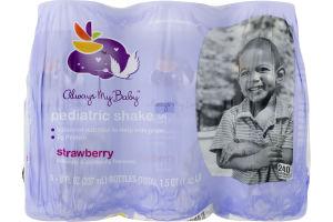 Always My Baby Pediaric Shake Strawberry - 6 CT