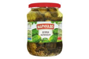Огурцы маринованные Маринадо с/б 680г