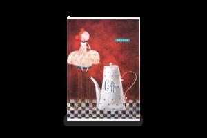 Тетради общие клетка/безлиновка A6 Школярик 2х40л