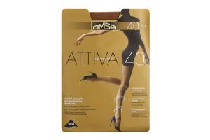 Колготки Omsa Attiva 40 сappuccino р.4