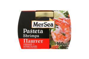 Паштет рыбный с креветками MerSea с/б 160г