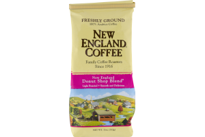 New England Coffee New England Donut Shop Blend Freshly Ground