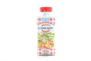 Йогурт пит.2,5% Пер.Селянське т/т 330г