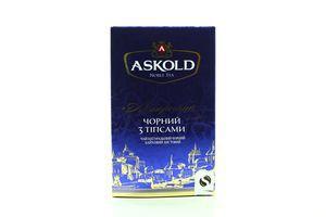 Чай черный байховый листовой с типсами Авторский Askold к/у 80г