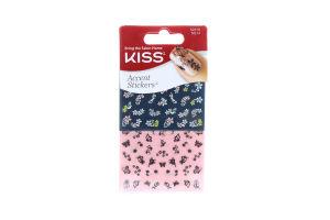 KISS набір стікерів д/нігтів 3D Tip & Toe Art NS14