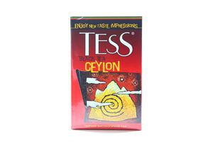 Чай чорний д/лист.Цейлон Tess 100г