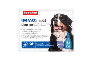 Капли антипаразит-ные с диметиконом (IMMO SHIELD) д/собак от 30 кг (3 пип.)