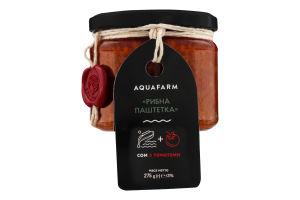 Сом с томатами Рыбная паштетка Aquafarm с/б 275г