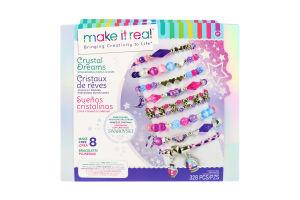 Набір для дітей від 8років для створення шарм-браслетів №MR1723 Зачаровані камінці Make It Real 1шт