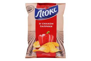 Чипсы картофельные Паприка Люкс м/у 133г