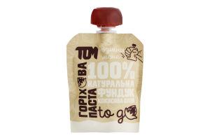 Паста горіхова Фундук-кокосова олія Том д/п 64г