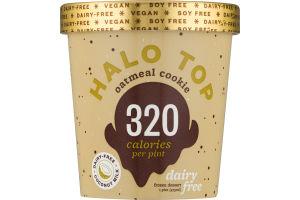 Halo Top Dairy-Free Frozen Dessert Oatmeal Cookie