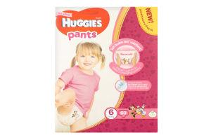 Трусики-підгузники для дівчаток дитячі гігієнічні 15-25кг Huggies 60шт