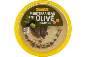 Garden Fresh Gourmet Hummus Mediterranean Style Olive