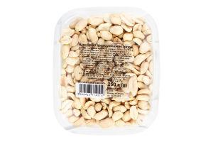 Арахис ядра бобов жареные соленые Натуральні продукти п/у 250г