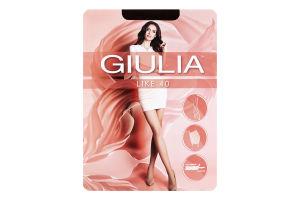 Колготки жіночі Giulia Like 40den 3-M cappuccino