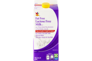 Ahold Fat Free Lactose Free Calcium Fortified Milk