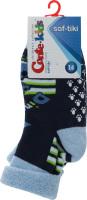 CONTE-KIDS SOF-TIKI Шкарпетки дитячі (проти ковзання) р.14 258 темний джинс