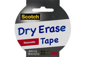 Scotch Dry Erase Tape Removable