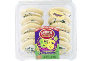 Lofthouse Cookies Mardi Gras! Frosted Sugar Cookies