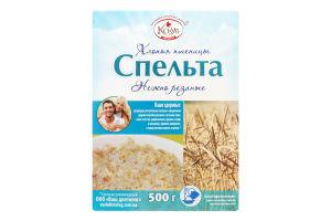 Пластівці пшениці миттєвого приготування Спельта Козуб продукт к/у 500г