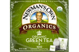 Newman's Own Organics Organic Tea Green - 100 CT