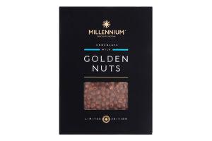 Шоколад молочний з цілим фундуком Golden Nuts Millennium к/у 1.1кг
