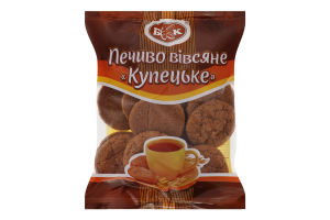 Печиво вівсяне Купецьке БКК м/у 300г