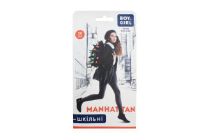Колготи дитячі Boy&Girl Manhattan 50den 158-164 brown