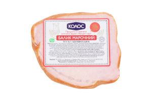 Продукт из свинины Балык марочный Колос к/в кг