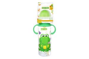 Пляшка для годування дитяча з латексною соскою 0+ Baby Team 250мл