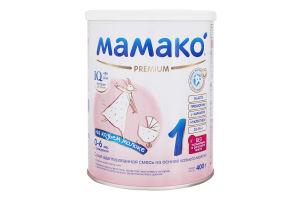 Смесь молочная сухая для детей 0-6мес Premium 1 Mamako з/б 400г