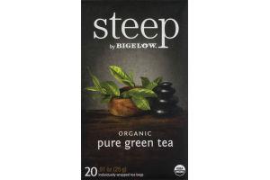 Steep By Bigelow Organic Pure Green Tea - 20 CT