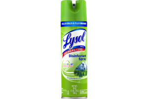 Lysol Fresh Zone Disinfectant Spray Crisp Mountain Air Scent