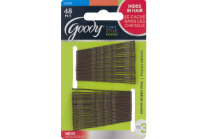 Goody Start Style Finish Skinny Bobby Pins - 48 PC