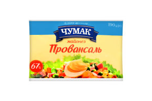 Майонез 67% Провансаль Чумак м/у 375г