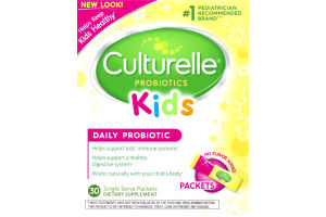 Culturelle Kids Daily Probiotic Formula Packets - 30CT