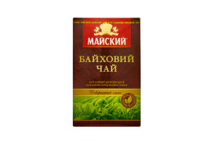 Чай Майский цейлонский байховый 85г