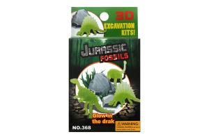 Игрушка Динозаврик светится в темноте D*02