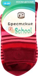 Носки детские Брестские 3081 804 т.бордо р.19-20