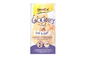 Корм для котов с тунцом и сыром Snack Tabs Goodies GimCat 40г